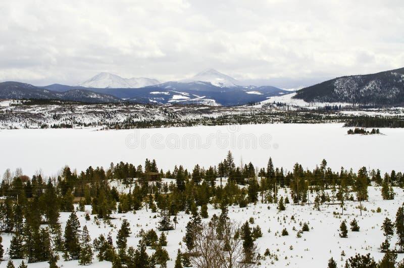 Colorado Mountain View stockfoto