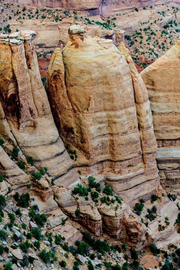 Colorado-Nationaldenkmallandschaft lizenzfreies stockbild