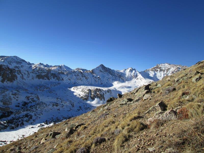 Colorado nevado hermoso Rocky Mountains, gama de Sawatch fotos de archivo