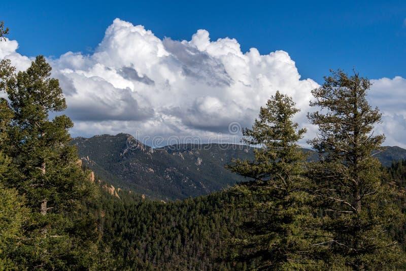 Colorado - norr Cheyenne Canyon Colorado Springs arkivfoton