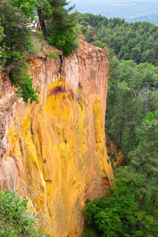 Colorado provencal in de Provence stock afbeeldingen
