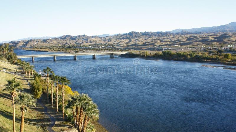 Colorado River Landscape royalty free stock photography