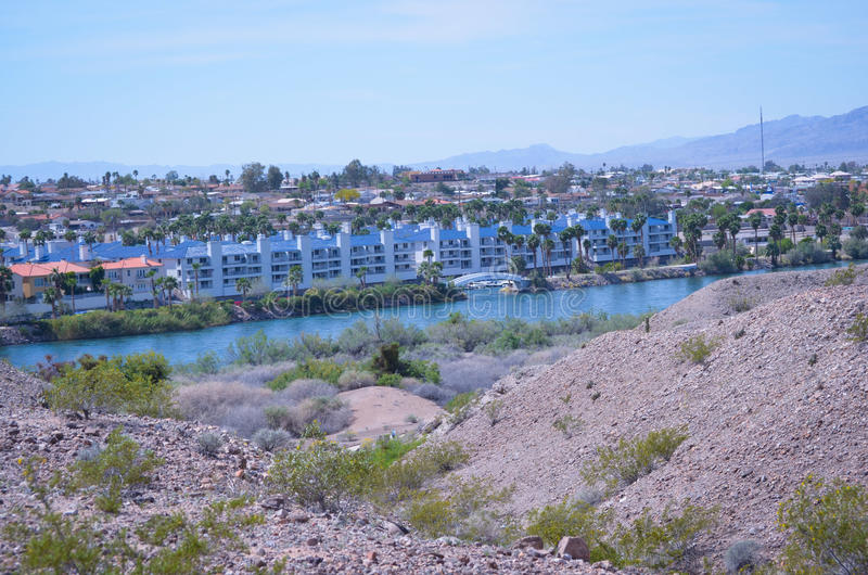 Colorado River. Laughlin Nevada royalty free stock images