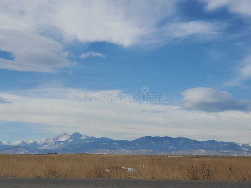 Colorado Rockies no Norte do Colorado foto de stock royalty free