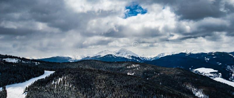 Colorado Rockies. Picture of the colorado rockies in vail colorado royalty free stock photo