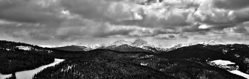 Colorado Rockies. Picture of the colorado rockies in vail colorado stock images
