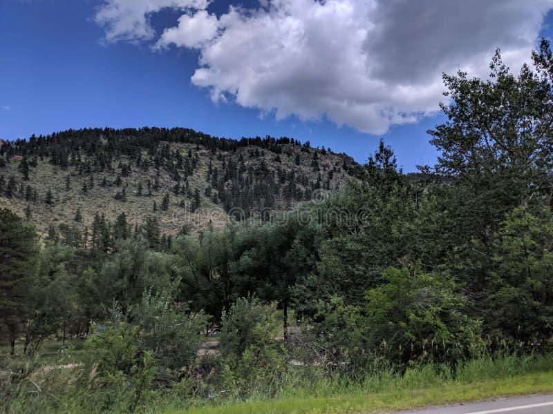 Colorado Rockies skönhet fotografering för bildbyråer