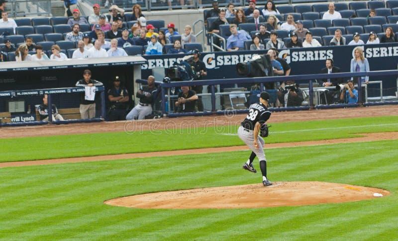 Colorado Rockies X New York Yankees Baseball Editorial Image