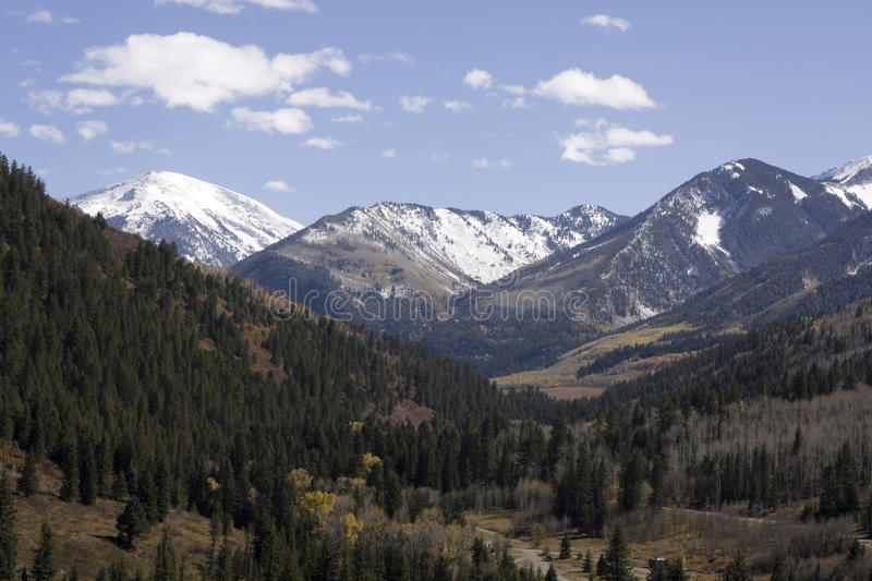 Colorado Rocky Mountains. Landscape of Colorado Rocky Mountains, USA royalty free stock photo