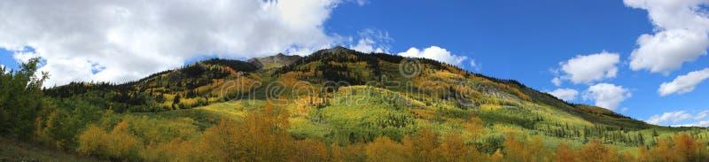 Colorado Rocky Mountains Near Aspen, Colorado foto de stock royalty free