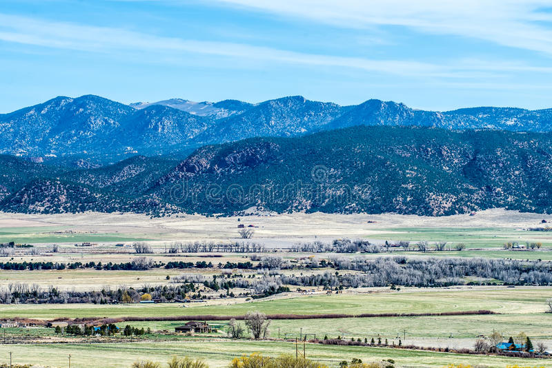 Colorado rocky mountains vista views royalty free stock photos