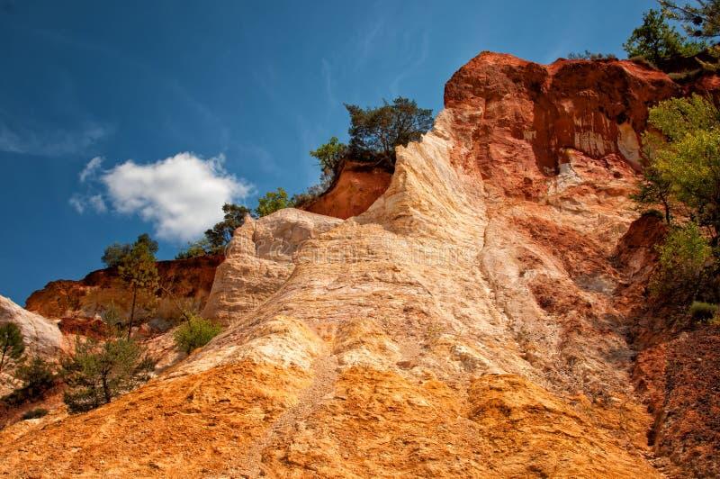 Download Colorado Rustrel foto de archivo. Imagen de colina, geológico - 42446206
