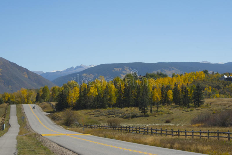 Download Colorado Scenic Road In Fall Stock Photo - Image: 11210630
