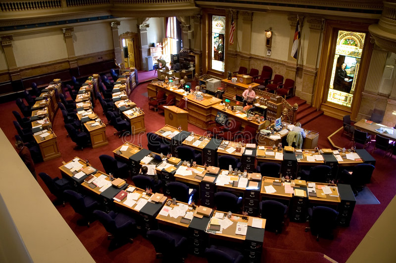 Colorado Senate stock photography