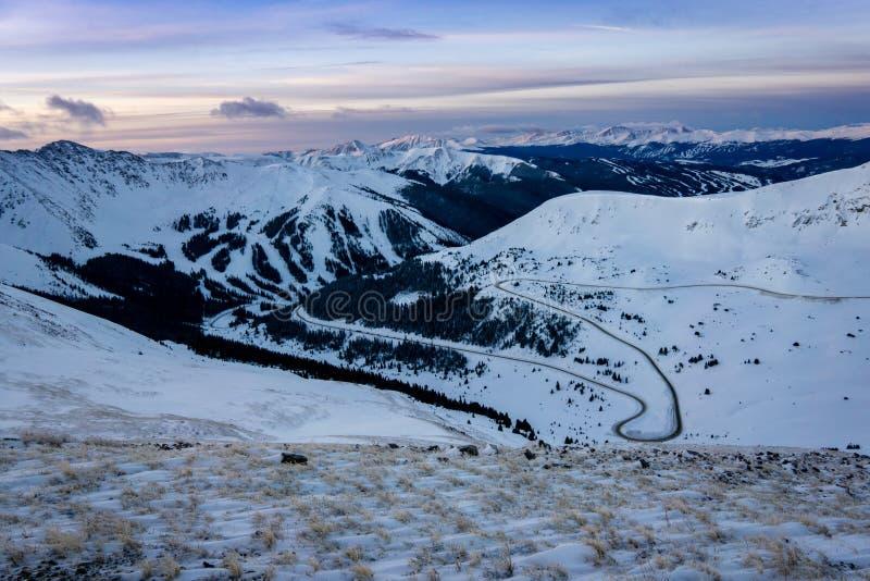 Colorado Ski Country foto de archivo libre de regalías