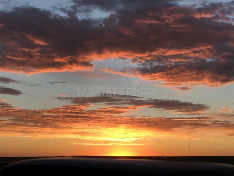 Colorado soluppgång royaltyfri bild