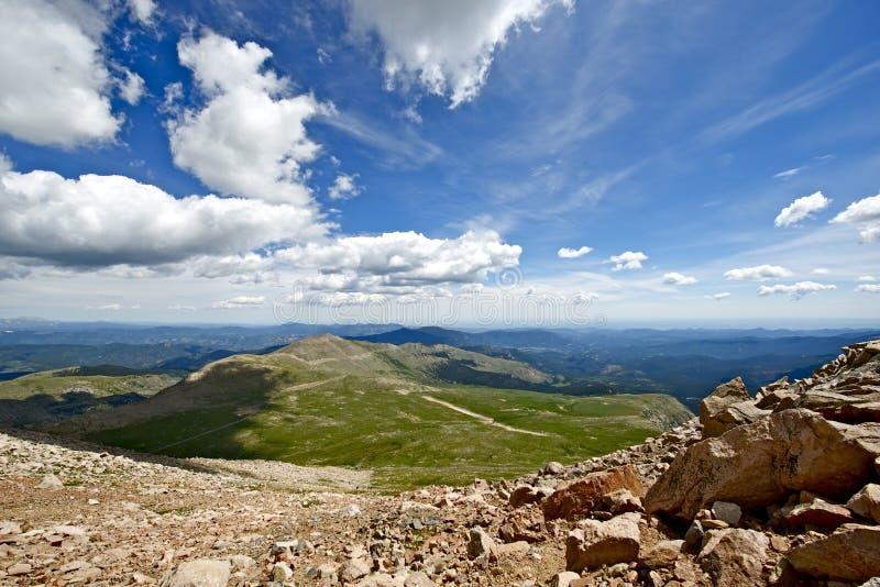 Colorado-Sommer-Landschaft stockfoto