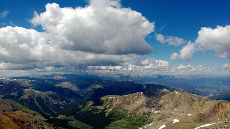 Colorado-Spitzen lizenzfreie stockfotografie
