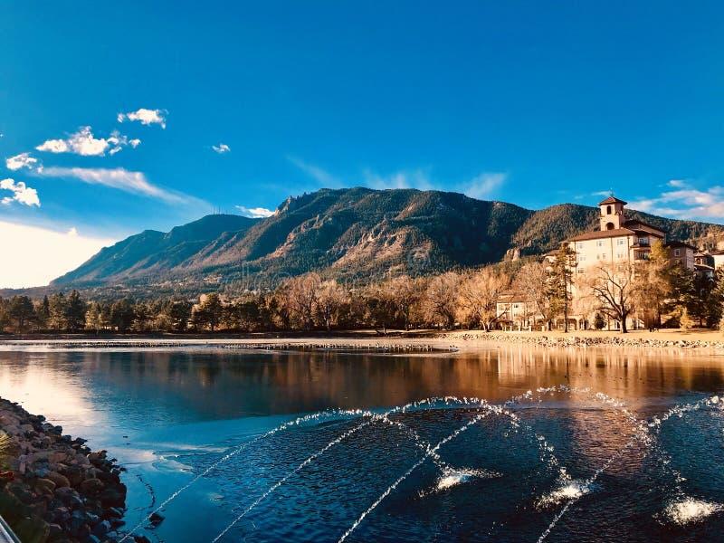 Colorado Springs lizenzfreie stockfotografie