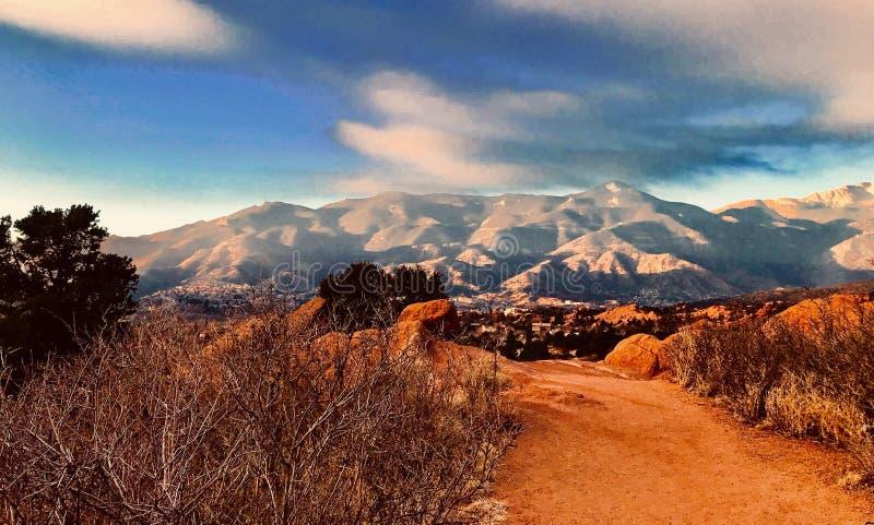 Colorado Springs stockfoto