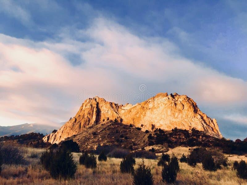 Colorado Springs lizenzfreies stockbild
