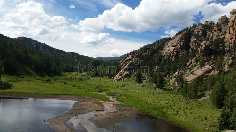 Colorado Springs royalty-vrije stock fotografie