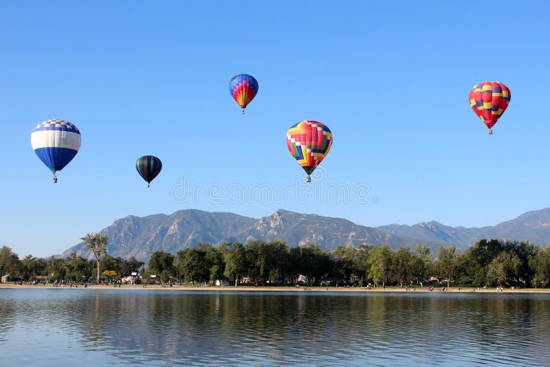 Colorado Springs ballongklassiker royaltyfria bilder