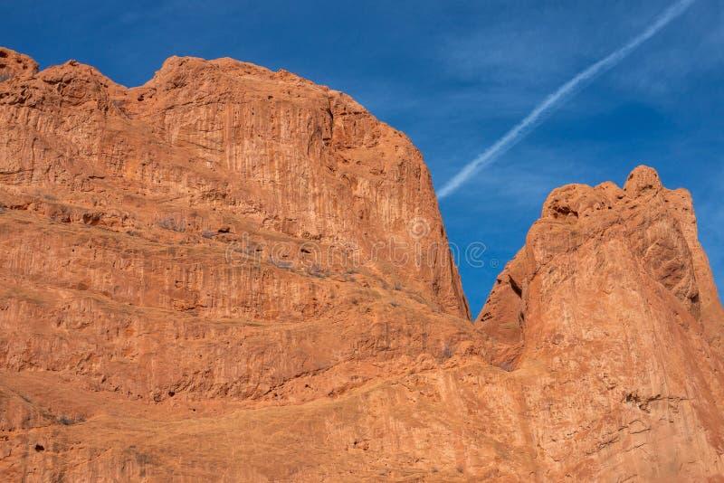 Colorado springs garden of the gods rocky mountains adventure travel photography. Garden of the gods in colorado springs - travel photography on a colorado stock photos