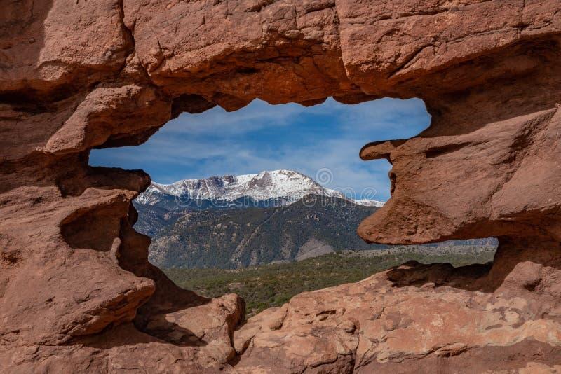 Colorado springs garden of the gods rocky mountains adventure travel photography. Garden of the gods in colorado springs - travel photography on a colorado royalty free stock photos