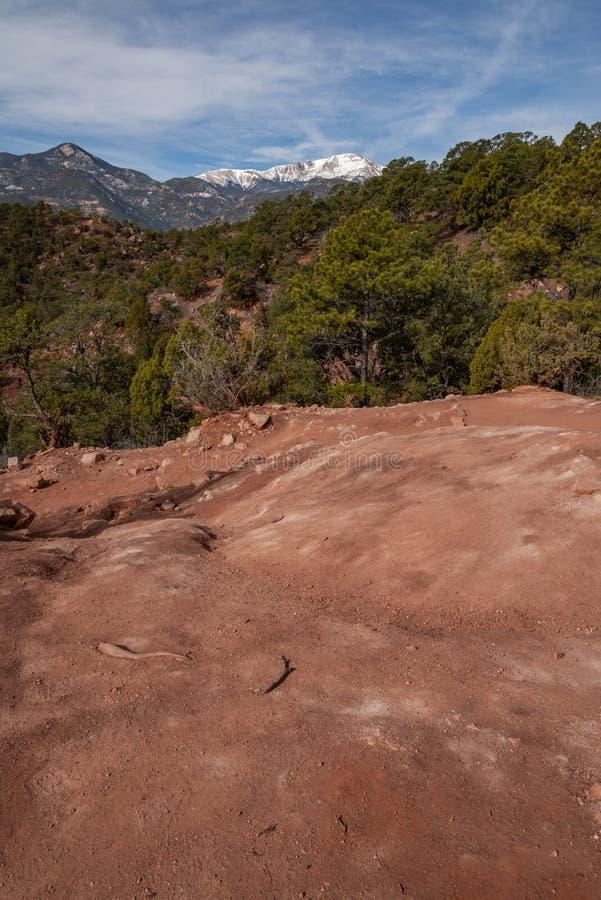 Colorado springs garden of the gods rocky mountains adventure travel photography. Garden of the gods in colorado springs - travel photography on a colorado stock photography