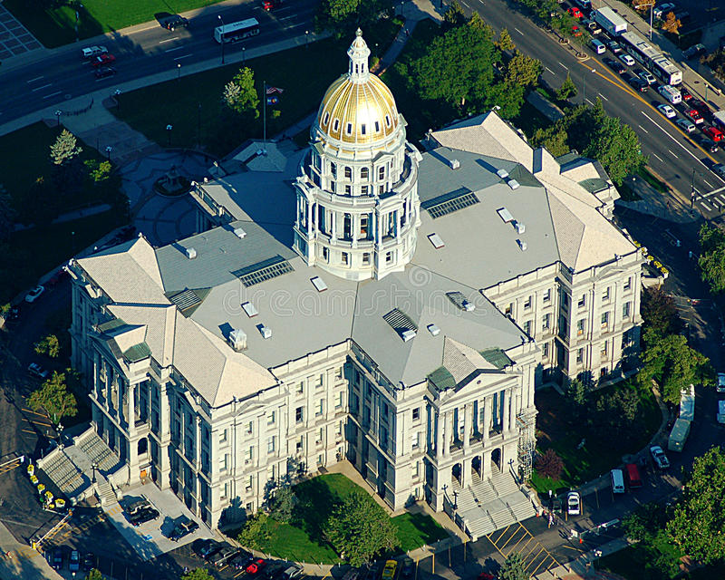 Colorado State Capital stock photography