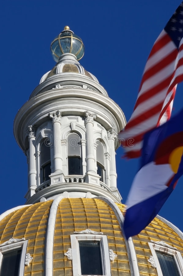 Colorado State Capitol royalty free stock images