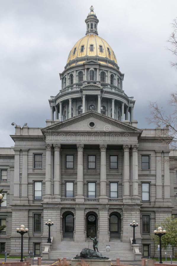 Colorado State Capitol Architecture. The Colorado State Capitol Building located in Denver, Colorado The building is intentionally reminiscent of the United royalty free stock photos