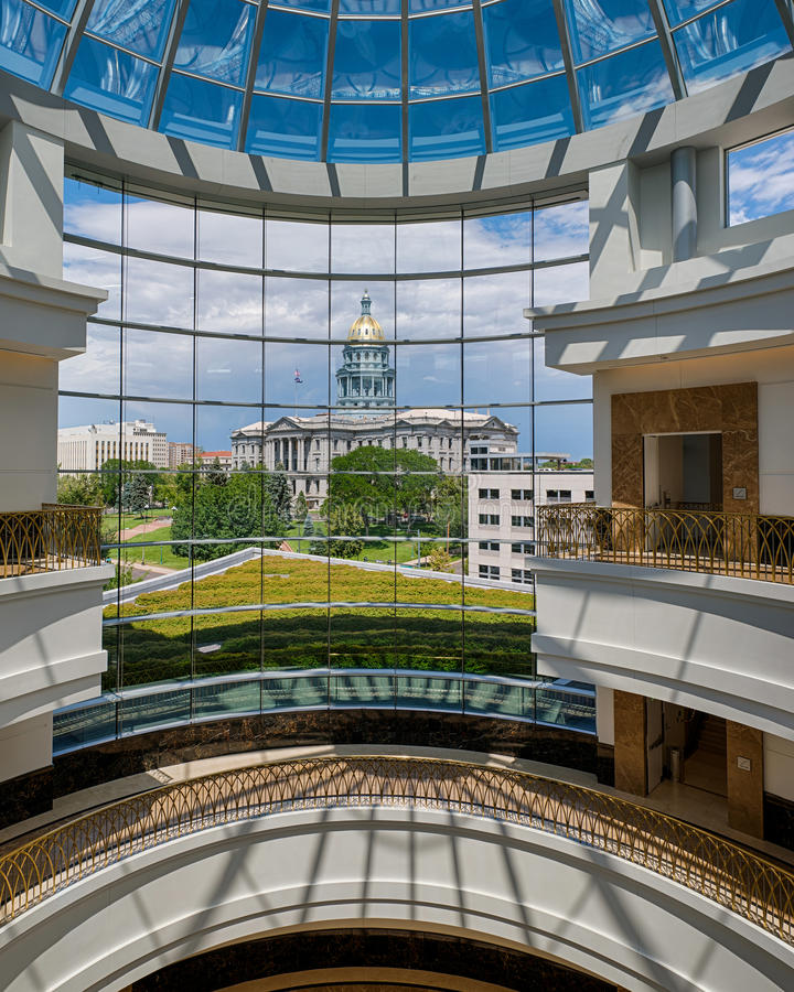 Colorado State Capitol Editorial Photo. Image Of Dome