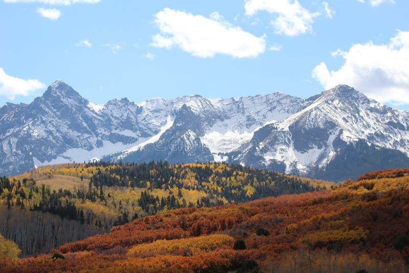 Colorado Tetons under sommaren arkivbild
