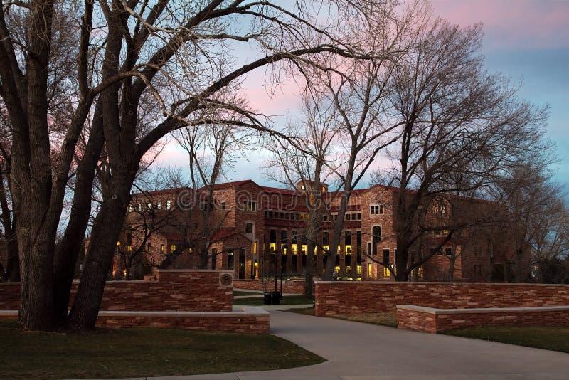 Colorado university stock image