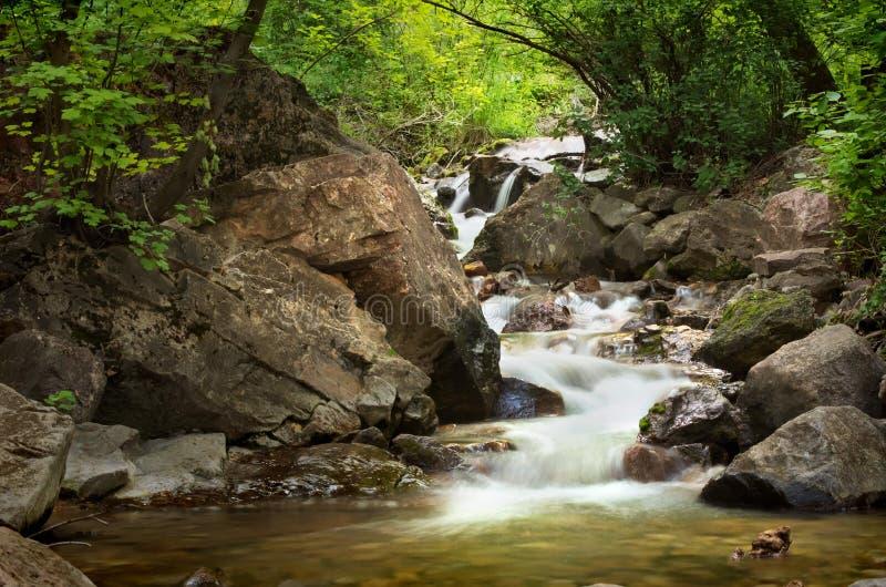 Colorado vattenfall royaltyfri fotografi