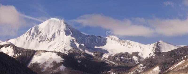 Colorado Winter Panorama Landscape