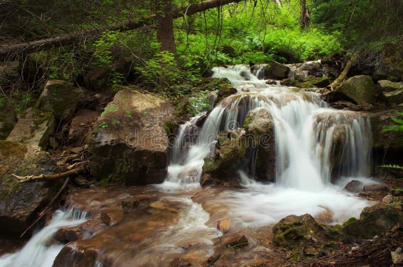 Coloradoflodenvattenfall fotografering för bildbyråer