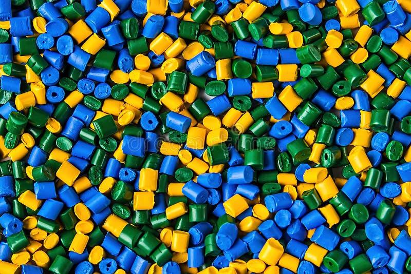 Colorant polymère granules en plastique Colorant pour des plastiques Colorant i photo stock