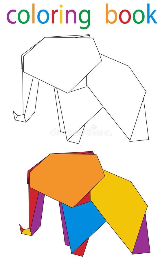 colorante del libro ilustración del vector