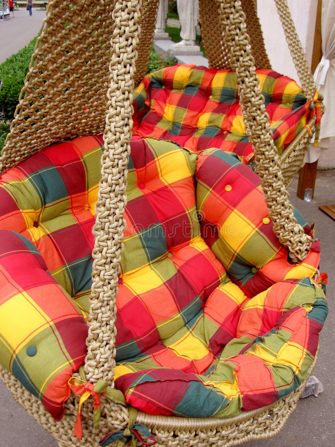 Colorated hammock stock images