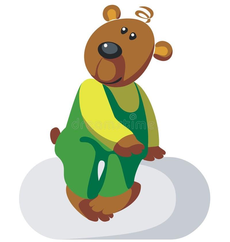 Colore 03 dell'orso illustrazione vettoriale