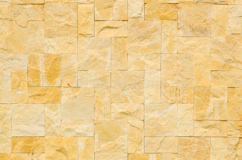 Colore del modello della parete di pietra reale decorativa di progettazione moderna di stile fotografie stock libere da diritti