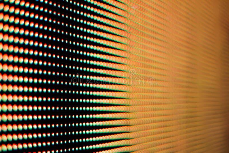 Colore della luce dallo schermo principale fotografia stock libera da diritti
