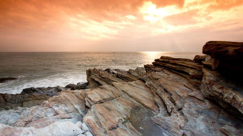 Colore della roccia immagini stock libere da diritti