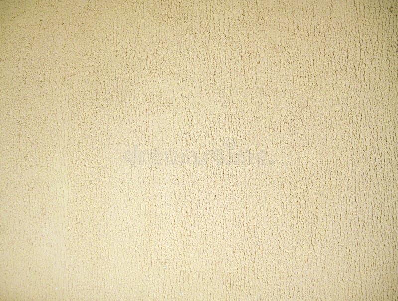 Colore dello stucco di beige fotografia stock libera da diritti