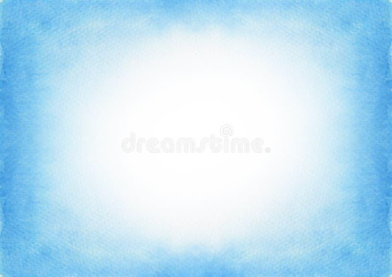 Colore di acqua blu della struttura di arte della pittura di pendenza illustrazione vettoriale