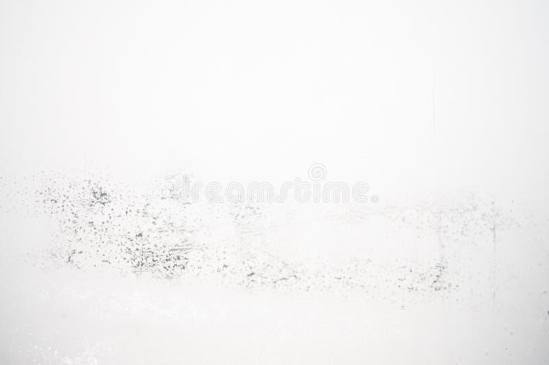 Colore di bianco del fondo di struttura di vetro glassato immagini stock libere da diritti