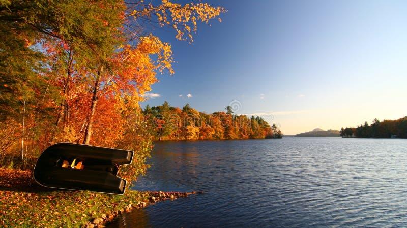 Colore di caduta in Nuova Inghilterra fotografie stock